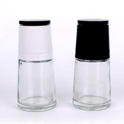 مطحنة التوابل بآلة طحن الملح Shaker Glice من نوع Spice سعة 120 مل زجاجة