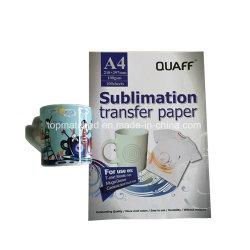 A4 100GSM ijzer-op het Document van de Overdracht van de Hitte van de Inkt van de Sublimatie van het Document van de Overdracht voor de Printer van Inkjet