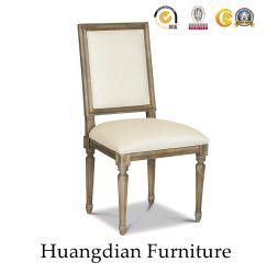 Старинной деревянной Handcarved прочного обеденный стул (HD073)