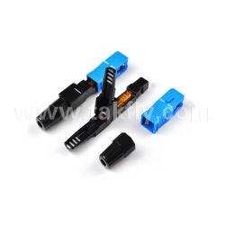 Sc/блок защиты и коммутации одномодовый оптоволоконный быстрый разъем
