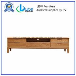 Bois de chêne meuble TV Table en bois avec une haute qualité/meuble TV rustique/les centres de divertissement et de meubles TV