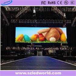 P6, P3 для использования внутри помещений в аренду полноцветный светодиодный экран на панели Die-Casting для рекламы (CE, FCC, RoHS КХЦ)