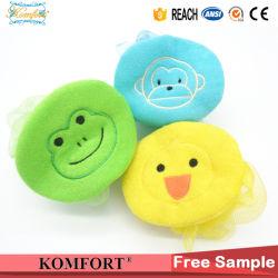 Lindo juguete para niños Pato animales bebé la esponja de baño ducha Ball