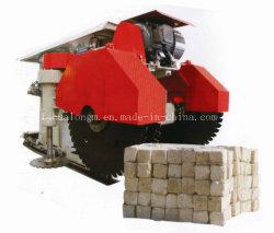 Sandstein-Steinbruch-Ausschnitt-Maschinen-Ziegelstein mit vertikaler und horizontaler Bewegung
