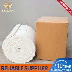 Lana ISO de aislamiento de alta temperatura resistente al calor manta ignífuga de fibra cerámica de horno de recocido