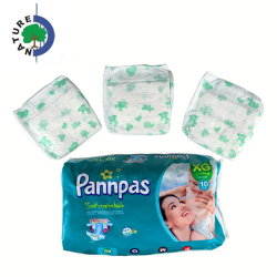 Recém-nascido orgânicos de bambu Fraldas para bebés fraldas de plástico descartáveis