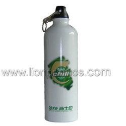 Logotipo personalizado de acero inoxidable y aluminio bicicleta Deportes botella