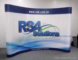 Aangepaste 3X4 PVC pop-up reclame 10FT Display apparatuur