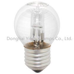 Venta caliente Eco G45 46W 230V el ahorro de energía luz halógena estándar con Ce RoHS diputados ERP