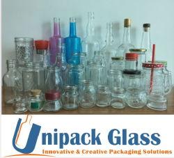 Nahrungsmittelglasglas/Honig-Glasglas-Saft-Glasglas-Maurer-Glas/Glasspeicherglas/Glasbehälter