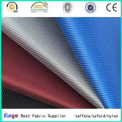 Textile triage 1680D Double PU/tissu à armure sergé revêtus de PVC pour les sacs-bagages