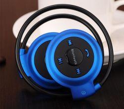 Mini-503 Neckback Sport Auscultadores Bluetooth estéreo para fone de ouvido com rádio FM