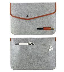 휴대용 다크 그레이 펠트 노트북 가방 Sh-16042635
