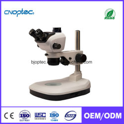 Estéreo microscopio binocular con zoom óptico de instrumentos microscópicos