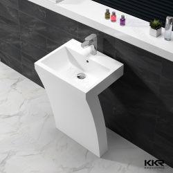 Diseño italiano moderno lavabo de pedestal de Superficie sólida