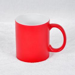 2016 El logotipo de empresa de impresión personalizados Taza de porcelana taza de café de cerámica taza roja