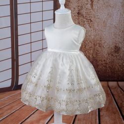 1 Year Girls Britherday Wear 1666b間赤ん坊Christening Dress Infant Gown