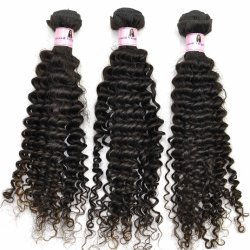 12inch Kinky 100% Curl Virgin Human indiano Hair Weft