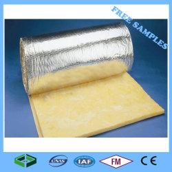 Manta de lã de material de construção de telhados de materiais de Lã de Vidro