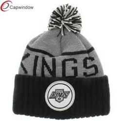 Mode populaire chaud Polaire noir/hiver Chapeau tricoté