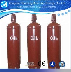 Prix du gaz industriel Kit de soudage de l'oxygène de l'Acétylène dissous du vérin gaz acétylène