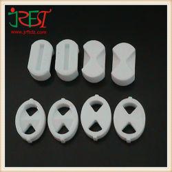 Isolant haute résistance à la température de 95 % de l'alumine vanne d'eau en céramique