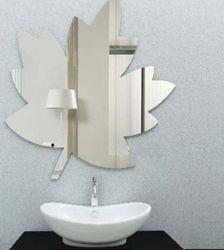 Espelho de prata decorativa de Forma Irregular