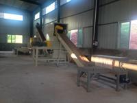 Coche chatarra Reciclaje de baterías de plomo-ácido de la línea de producción de planta /