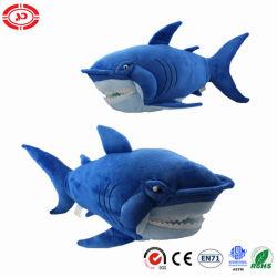 Пакеты Jumbo Frame животных Голубого Океана Акула роскошные мягкие CE фаршированные игрушка