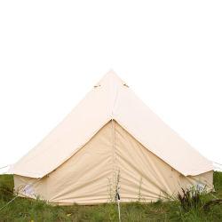 5M 방수 코튼 캔버스 패밀리 캠핑 벨 텐트