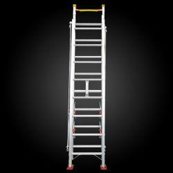 3 escada telescópica de alumínio para escapar de Incêndio