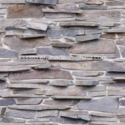 Natur-Schiefer-Wand-Stein-Dekoration mit niedrigem Preis