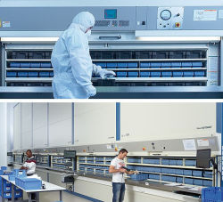 スペアパーツ整理用の強力な工具保管プラスチックトレイ容器