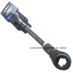 Cliquet à tête flexible Clé pour écrou évasé de clé à écrou évasé (WW-FNW02)