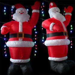 Weihnachtsvater aufblasbarer Weihnachtsmann für Dekoration