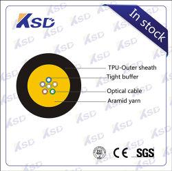Feld-bewegliches Faser-Optikkabel 1 2 4 6 12 Kern Gjpfju taktische Preis-Faser-Optikkabel-Preisliste