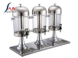 24 litres de jus de PS en acier inoxydable Baril trépied
