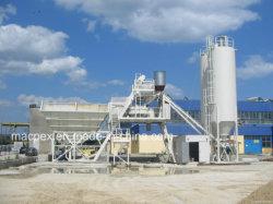Hzs90 Planta mezcladora de cemento por mezclador planetario fábrica de bloques