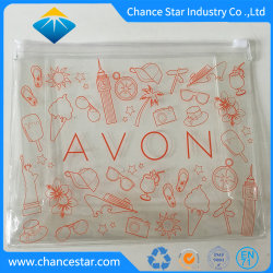 Fördernde gedruckte freier transparenter Belüftung-Kosmetik-Beutel-Plastiktasche