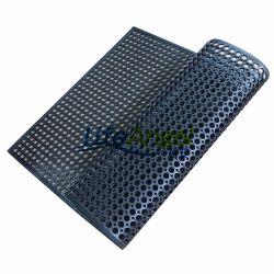 Industrial Anti-Fatigue tapis en caoutchouc de la cuisine de drainage
