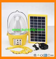 2015 Новая светодиодная лампа 3 Вт солнечной энергии для зарядки телефона