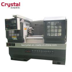 Cjk6140b ماكينة تعمل بالهواء الهيدروليكي أو الظرف الهوائي التلقائي CNC