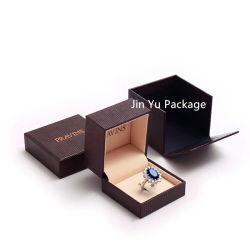 لون بني فاخر حلقة الماس مجوهرات مجوهرات مربع مصنعين