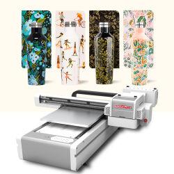 Imprimante kleiner Digital UVflachbettdrucker-Maschine Belüftung-Karten-Karten-Telefon-Kasten-Flaschenglas-Acryluvtintenstrahl-UVdrucken-Maschine