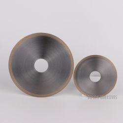 عجلات قطع معدنية ماسية الشكل للزجاج