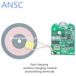Быстрое зарядное устройство беспроводной передатчик модуля катушки всеобщей ци быстрая зарядка монтажной платы взаимосвязи печатных плат