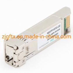 جهاز إرسال واستقبال بصري ألياف بصرية Bidi SFP+ Tx1490 مم Rx1550 نانومتر ألياف ضوئية 80 كم الوحدة