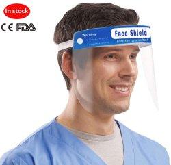 Zahnmedizinischer Gesichts-Schild-Hut-Haustier-Antinebel-Volldeckung-transparenter Spray-schützendes Gesichts-Schild mit