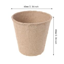 proteção ambiental 100% Degradáveis Taça de Mudas Copa mudas de papel
