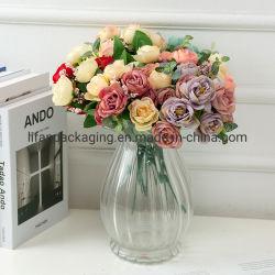Kunstmatige Decoratieve Europese stijl tien koppen zijde diamand Rose Flower